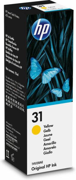HP 31 70-ml Yellow Original Ink Bottle Gelb