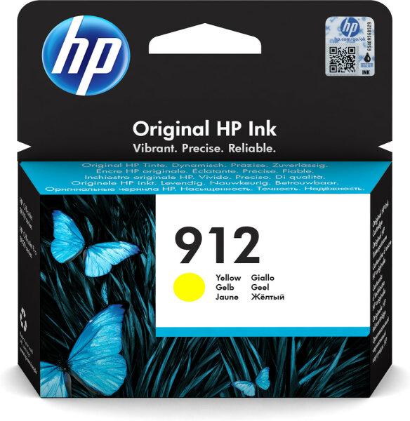 HP 912 ?lutá originální inkoustová kazeta Original Gelb 1 Stück(e)