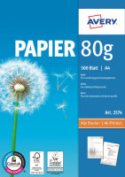Avery Zweckform Format Paper A4 80 g/m² 500 Sheets...