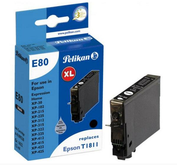 Pelikan E80 Schwarz