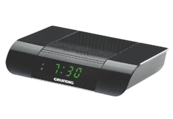 Grundig GKR3130 Radio Uhr Schwarz