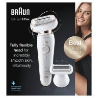 Braun Silk-épil 9 81688635 Epilierer Gold,...