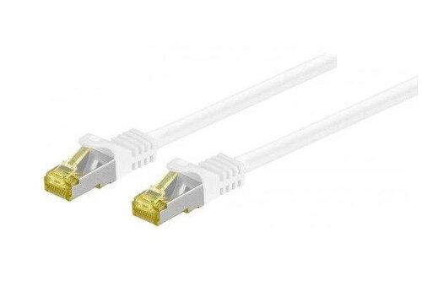 DINIC C7-15 Netzwerkkabel 15 m Cat7 S/FTP (S-STP) Weiß