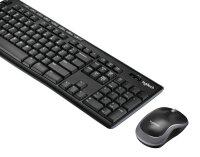 Logitech MK270 Tastatur RF Wireless QWERTZ Deutsch Schwarz