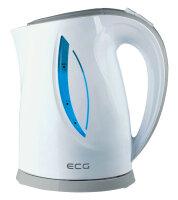 ECG RK 1758 Wasserkocher 1,7 l Grau, Weiß 2000 W