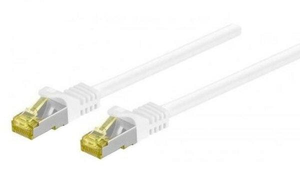 DINIC C7-3 Netzwerkkabel 3 m Cat7 SF/UTP (S-FTP) Weiß