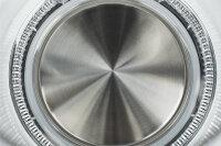 ECG RK 1776 Wasserkocher 1,7 l Schwarz, Silber, Transparent 2200 W