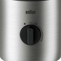 Braun SIJB 3272 SI 1,5 l Tischplatten-Mixer Edelstahl 800 W