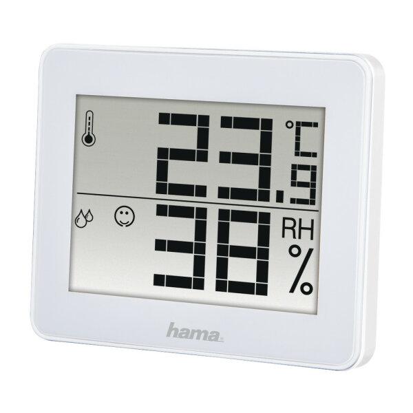 Hama TH-130 Weiß Digital Akku
