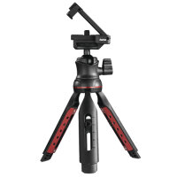 Hama Solid II, 21B Stativ Smartphone-/Digital-Kamera 3 Bein(e) Schwarz, Rot