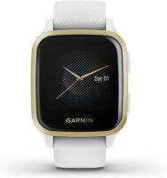 Garmin Venu SQ LCD 3,3 cm (1.3 Zoll) Gold, Weiß GPS