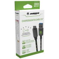 Snakebyte SB916267 USB Kabel 2 m 3.2 Gen 2 (3.1 Gen 2) USB C USB A Schwarz, Grün