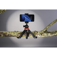 "Hama ""FlexPro"" Stativ Smartphone-/Action-Kamera 3 Bein(e) Schwarz, Rot"